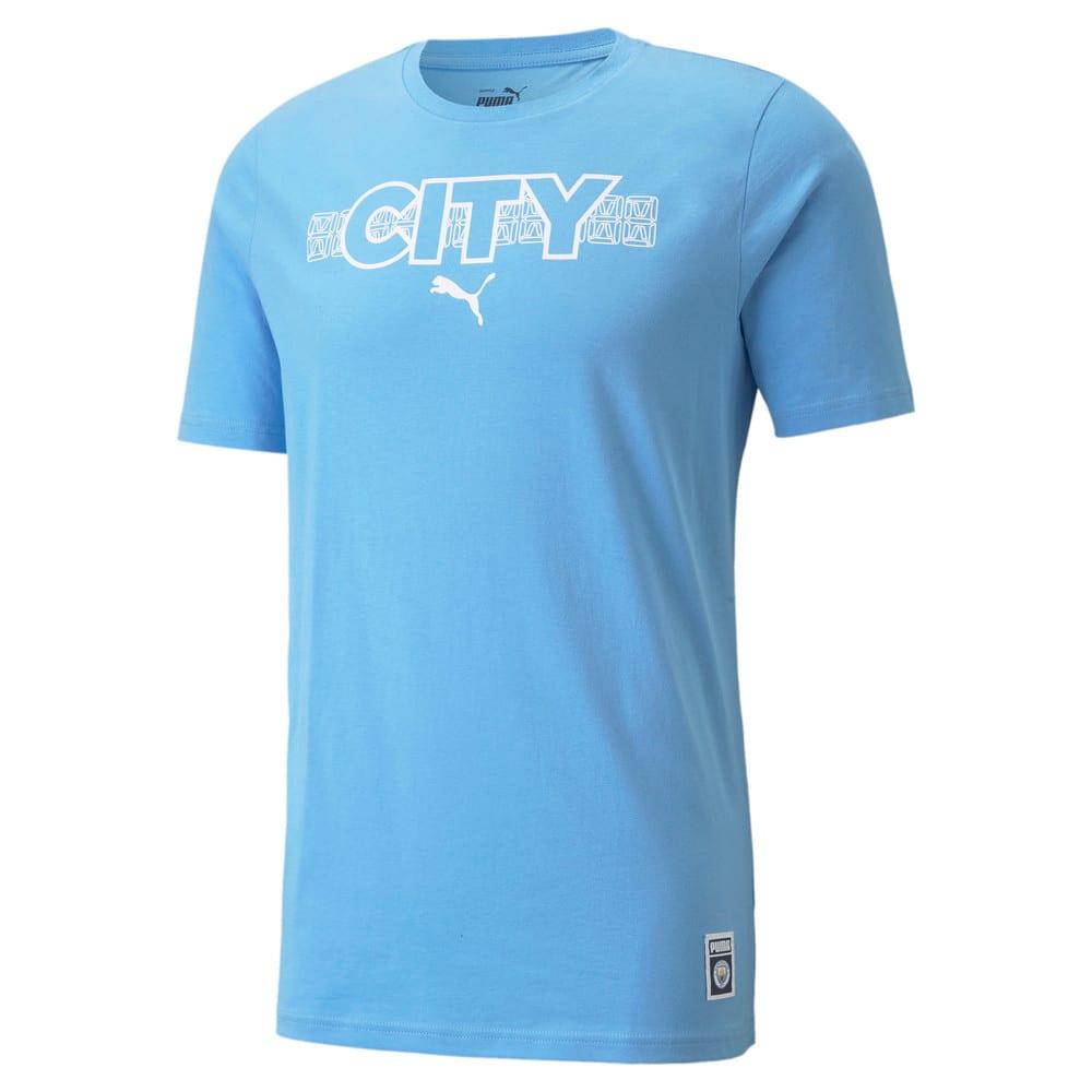 Изображение Puma Футболка Man City FtblCore Men's Football Tee #1