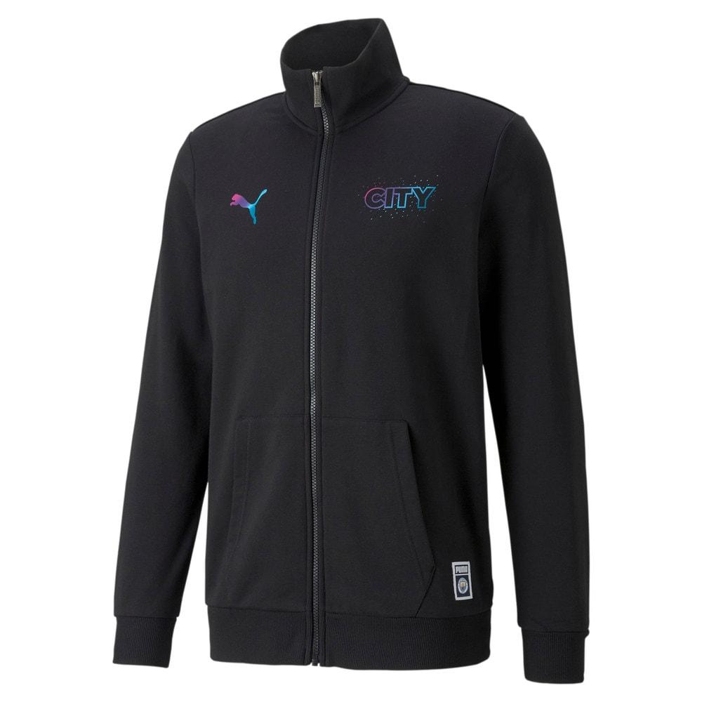 Изображение Puma Олимпийка Man City FtblCore Men's Football Track Jacket #1