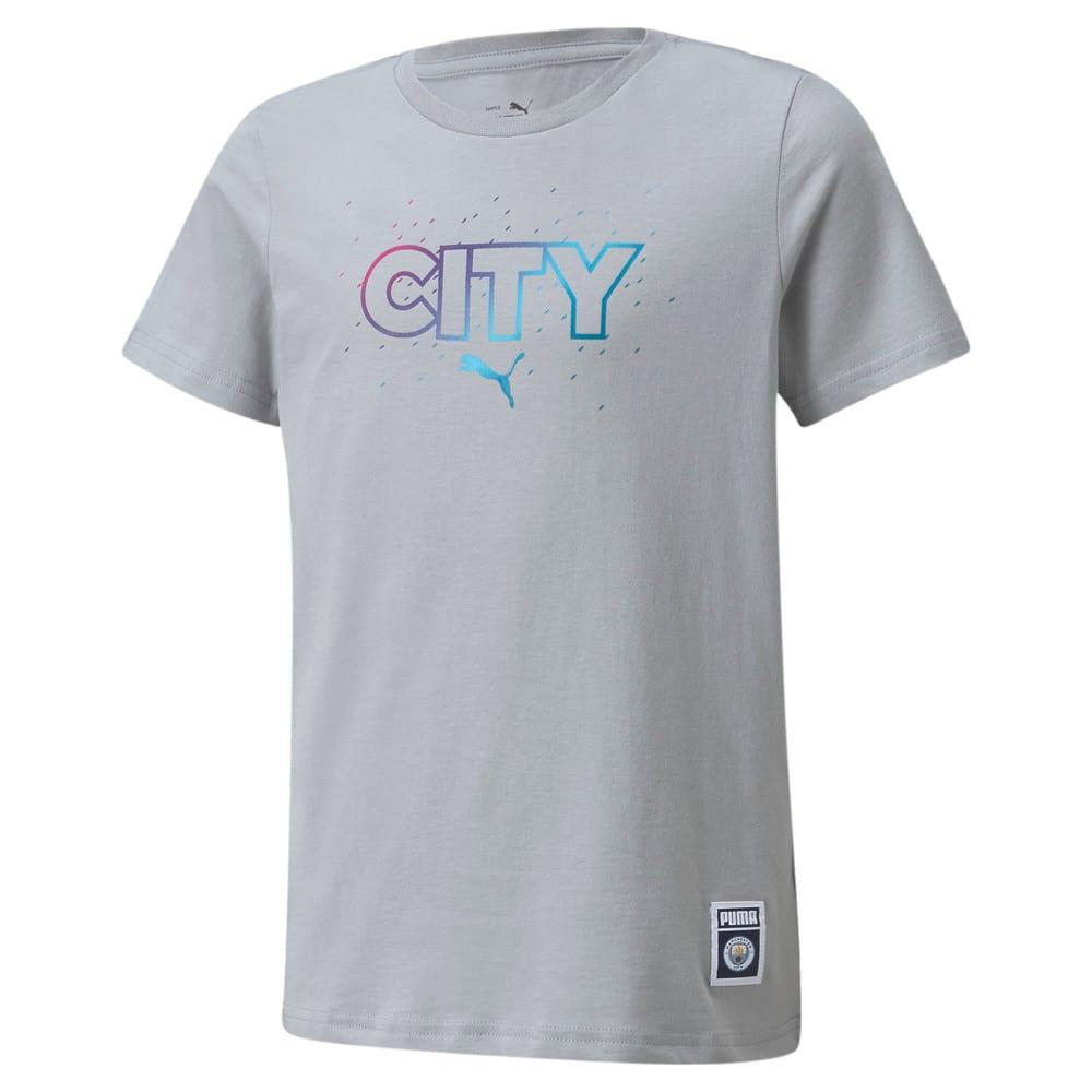 Изображение Puma Детская футболка Man City FtblCore Youth Football Tee #1