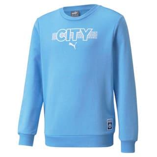 Изображение Puma Детская толстовка Man City FtblCore Youth Football Sweater