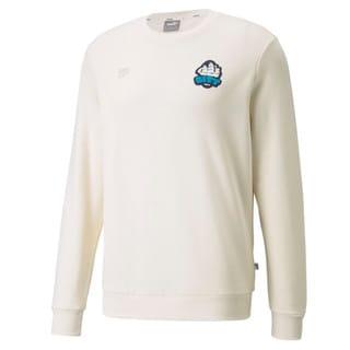 Изображение Puma Толстовка Man City FtblFeat Men's Football Sweatshirt