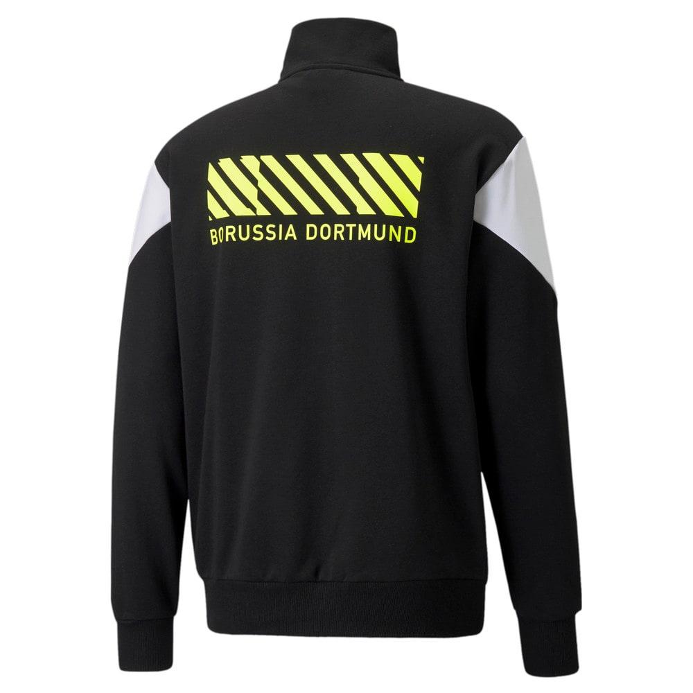 Изображение Puma Толстовка BVB FtblCulture Half-Zip Men's Football Sweater #2