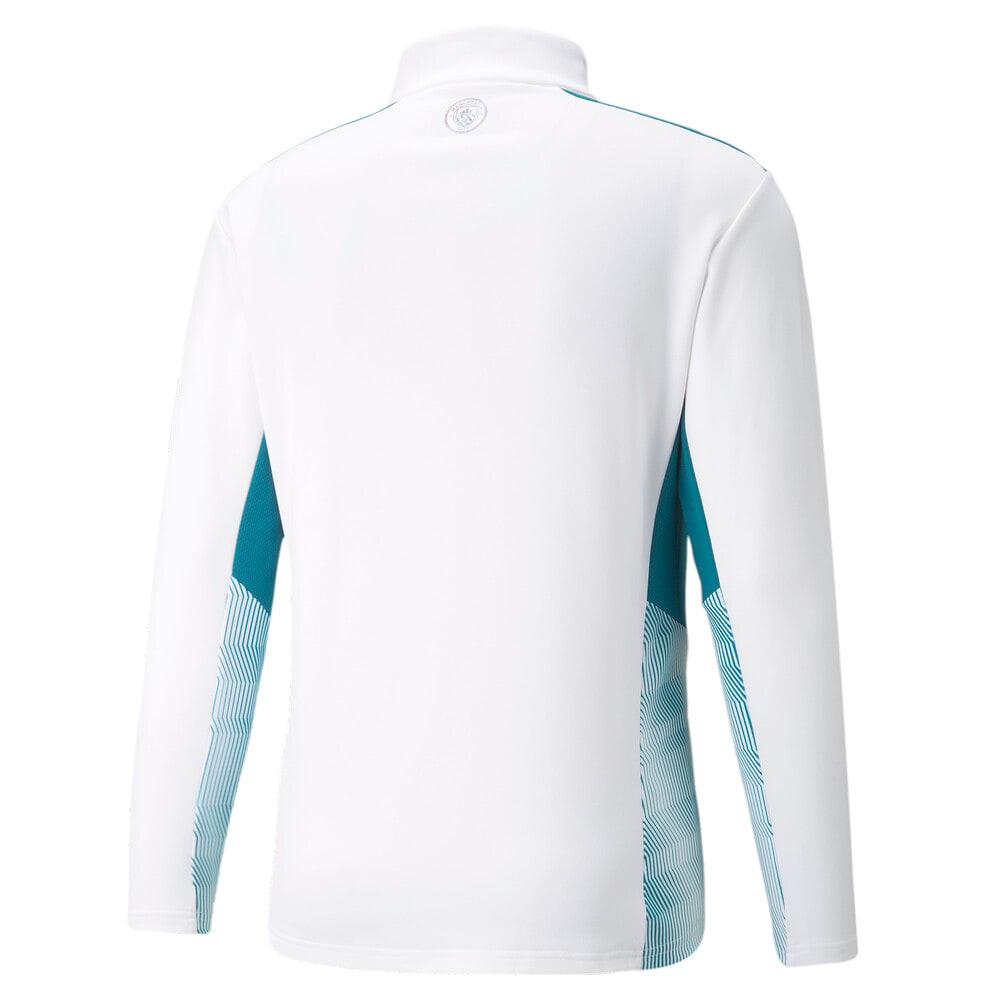 Image PUMA Camiseta Manchester City Quarter-Zip Training Masculina #2