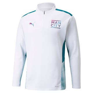 Image PUMA Camiseta Manchester City Quarter-Zip Training Masculina