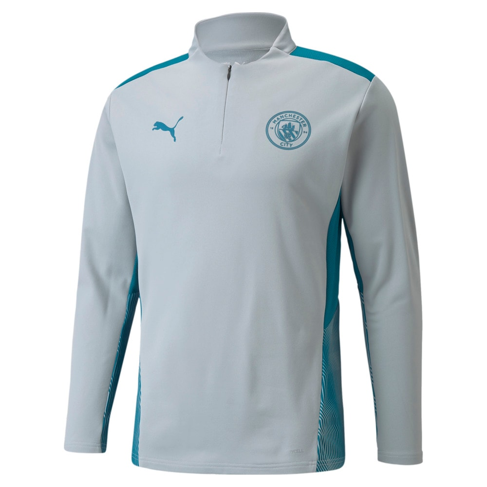 Image PUMA Camiseta Manchester City Quarter-Zip Training Masculina #1