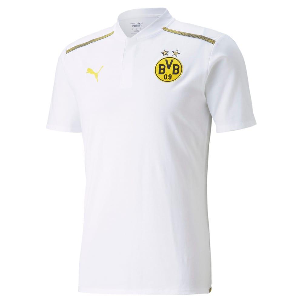 Изображение Puma Поло BVB Casuals Men's Football Polo Shirt #1