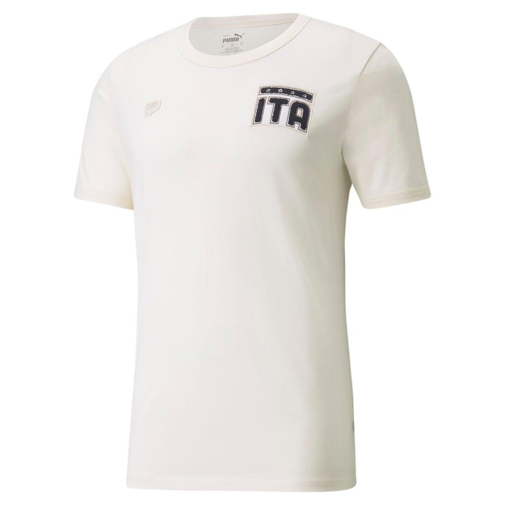 Изображение Puma Футболка FIGC FtblFeat Men's Football Tee #1