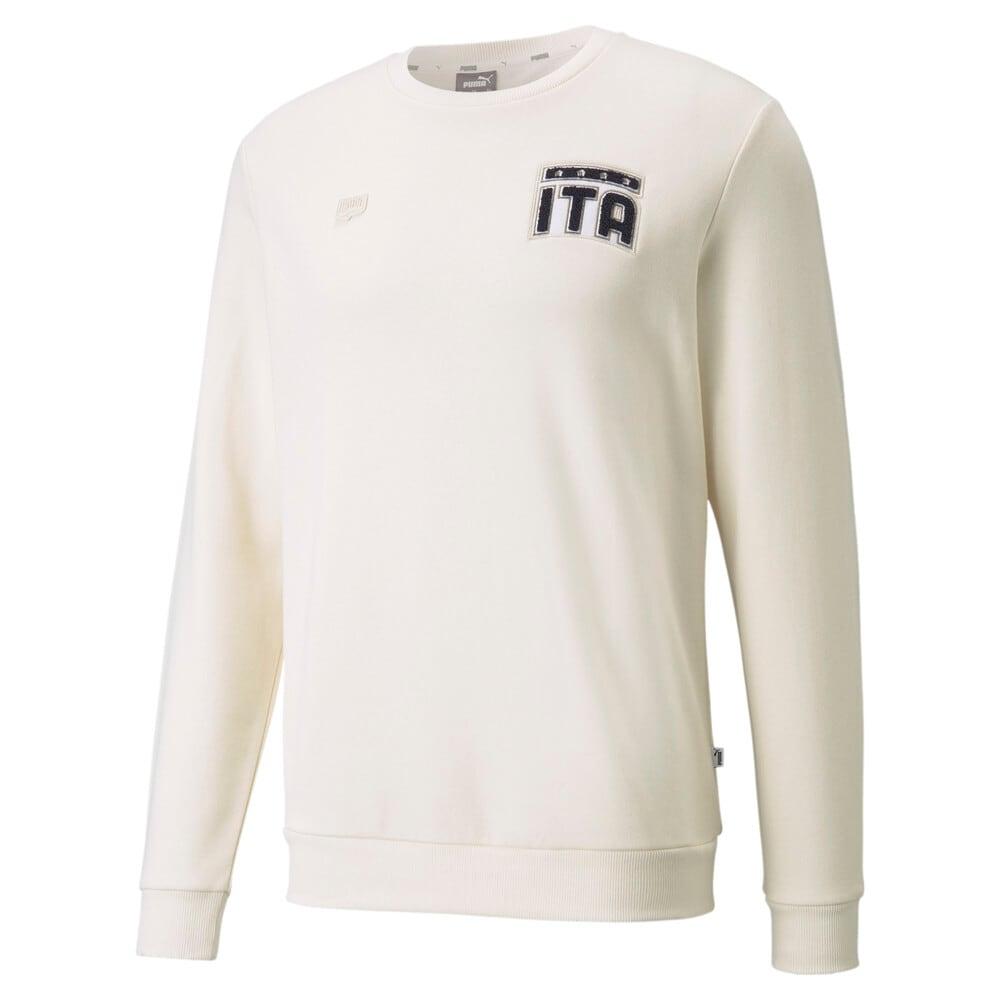 Изображение Puma Толстовка FIGC FtblFeat Crew Neck Men's Football Sweatshirt #1