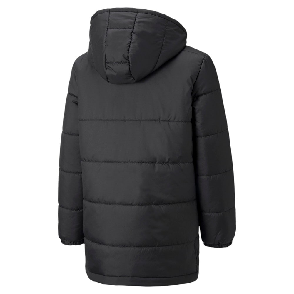 Зображення Puma Куртка FCSD Bench Youth Football Jacket #2: Puma Black-GOLDEN POPPY