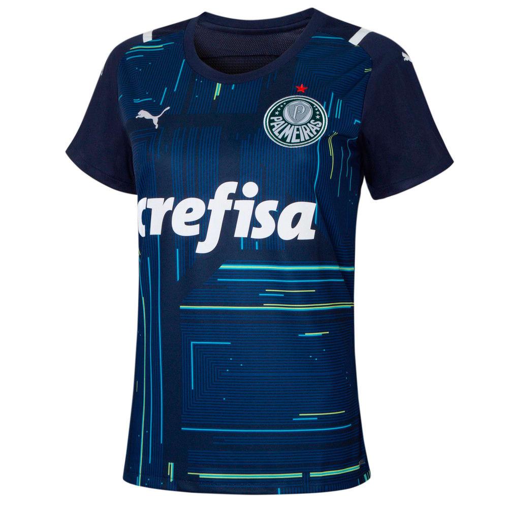 Image PUMA Camisa Palmeiras Goleiro I 2021 Feminina #1