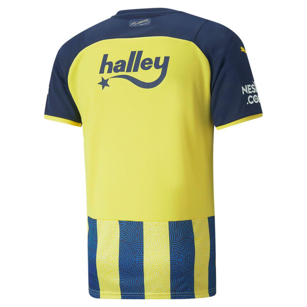 Изображение Puma Футболка FSK Fenerbahçe Home Men's Jersey #2: Blazing Yellow-Medieval Blue