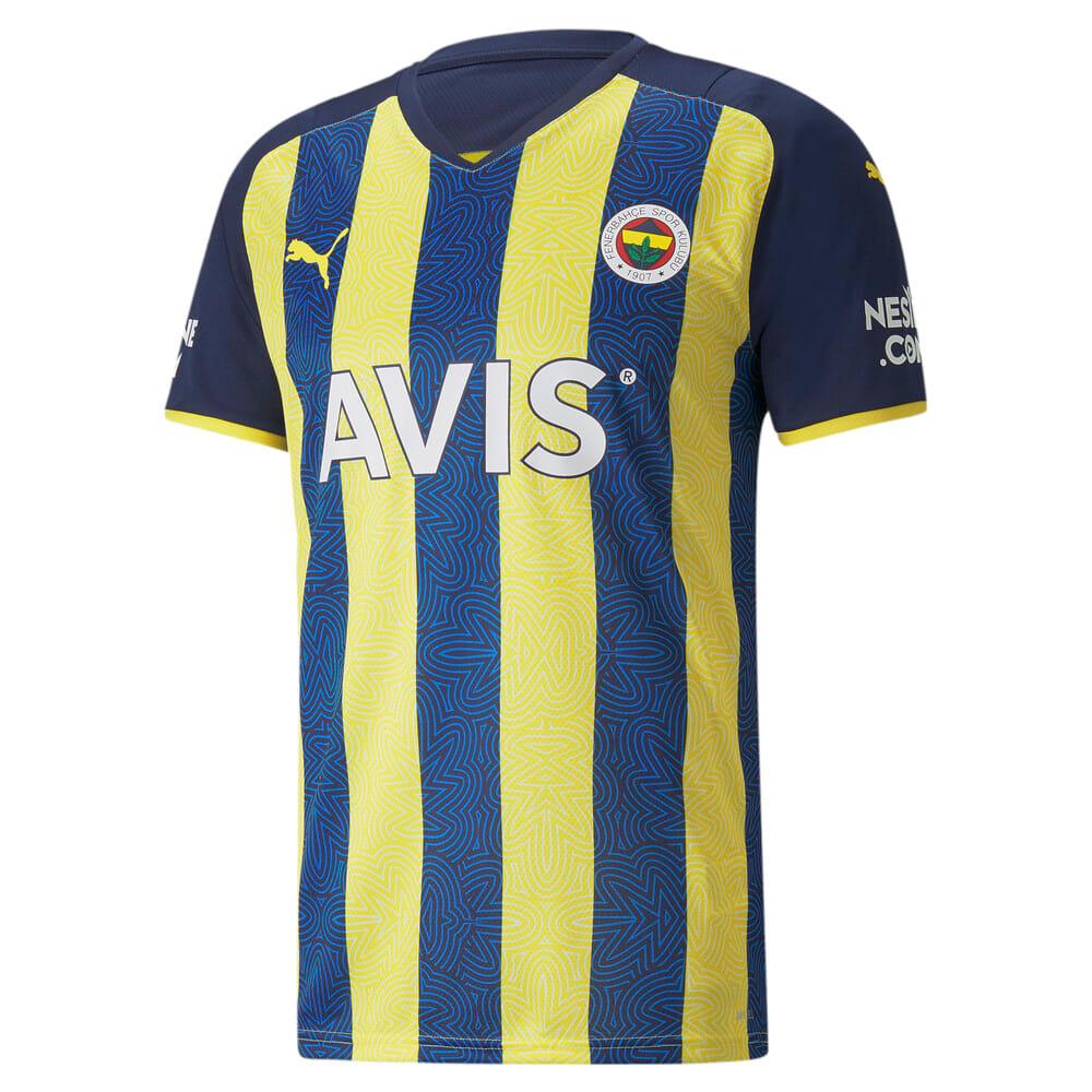 Изображение Puma Футболка FSK Fenerbahçe Home Men's Jersey #1: Blazing Yellow-Medieval Blue