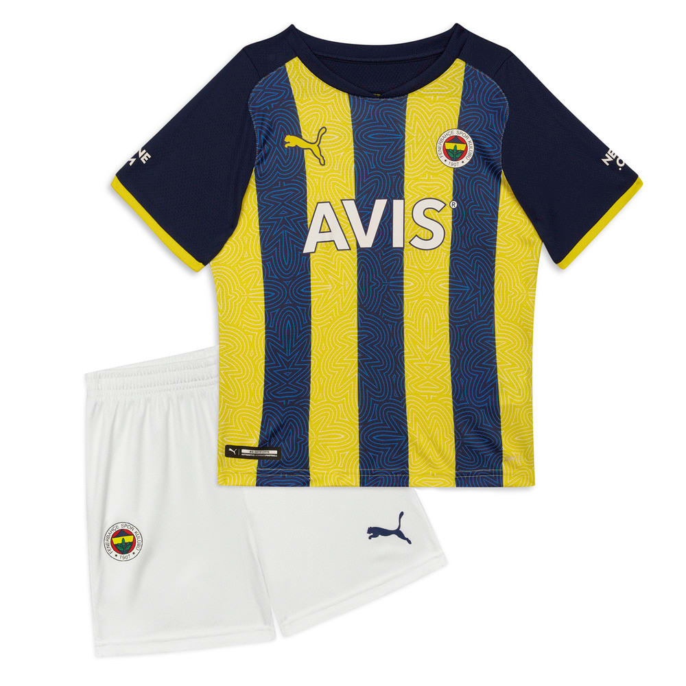 Görüntü Puma Fenerbahçe SK Çocuk İç Saha Forması #1