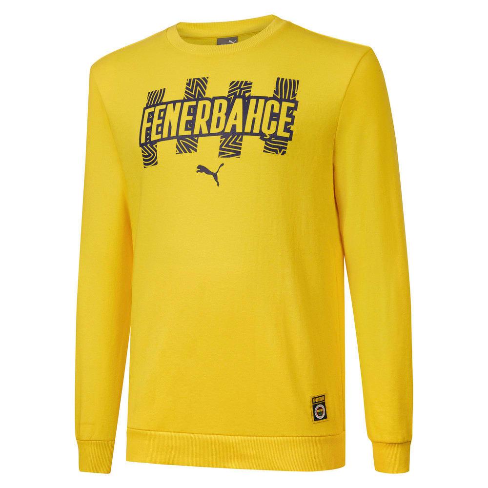 Görüntü Puma Fenerbahçe SK Erkek FtblCore Sweatshirt #1