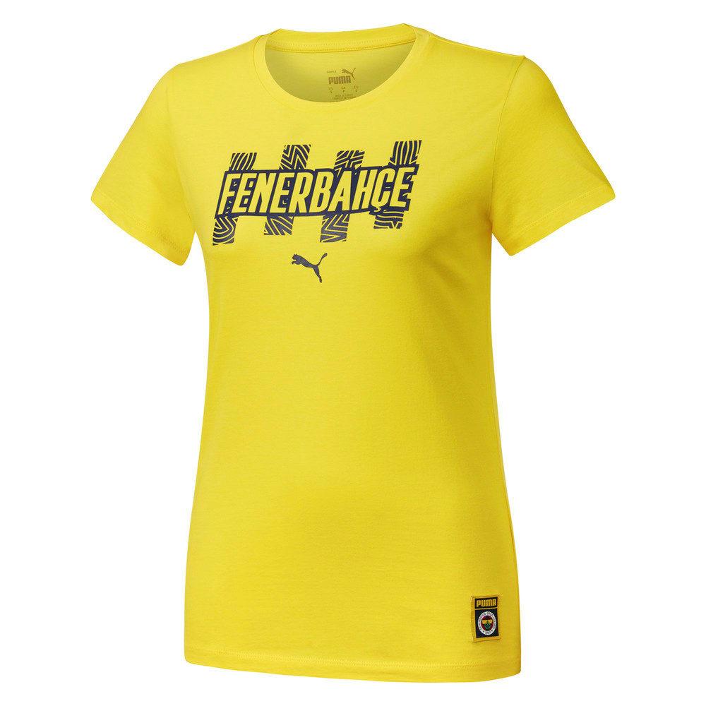 Görüntü Puma Fenerbahçe SK Kadın FtblCore T-shirt #1