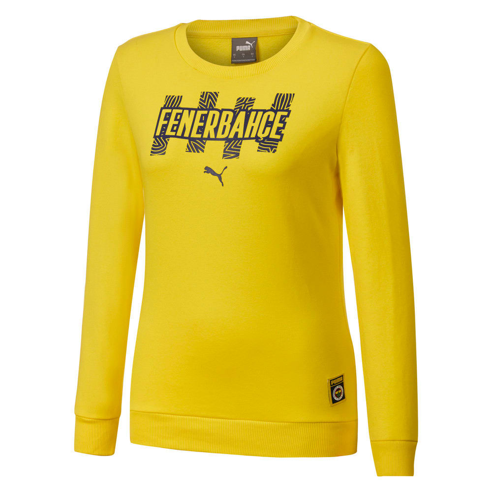 Görüntü Puma Fenerbahçe SK Kadın FtblCore Sweatshirt #1