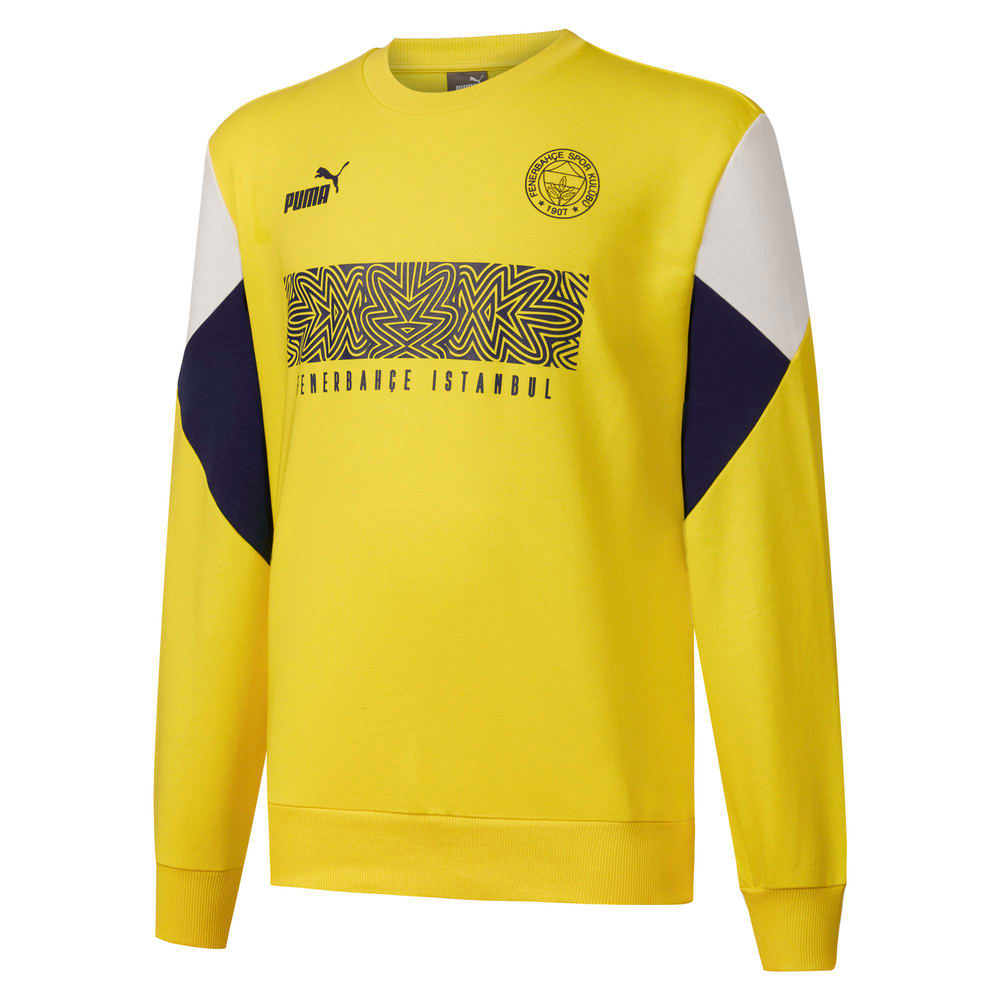 Görüntü Puma Fenerbahçe SK Erkek FtblCulture Sweatshirt #1
