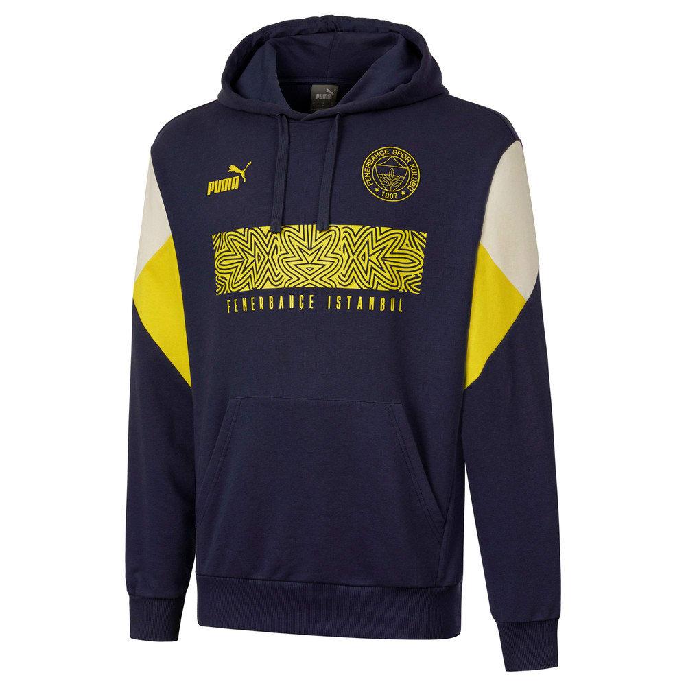Görüntü Puma Fenerbahçe SK Erkek FtblCulture Kapüşonlu Sweatshirt #1