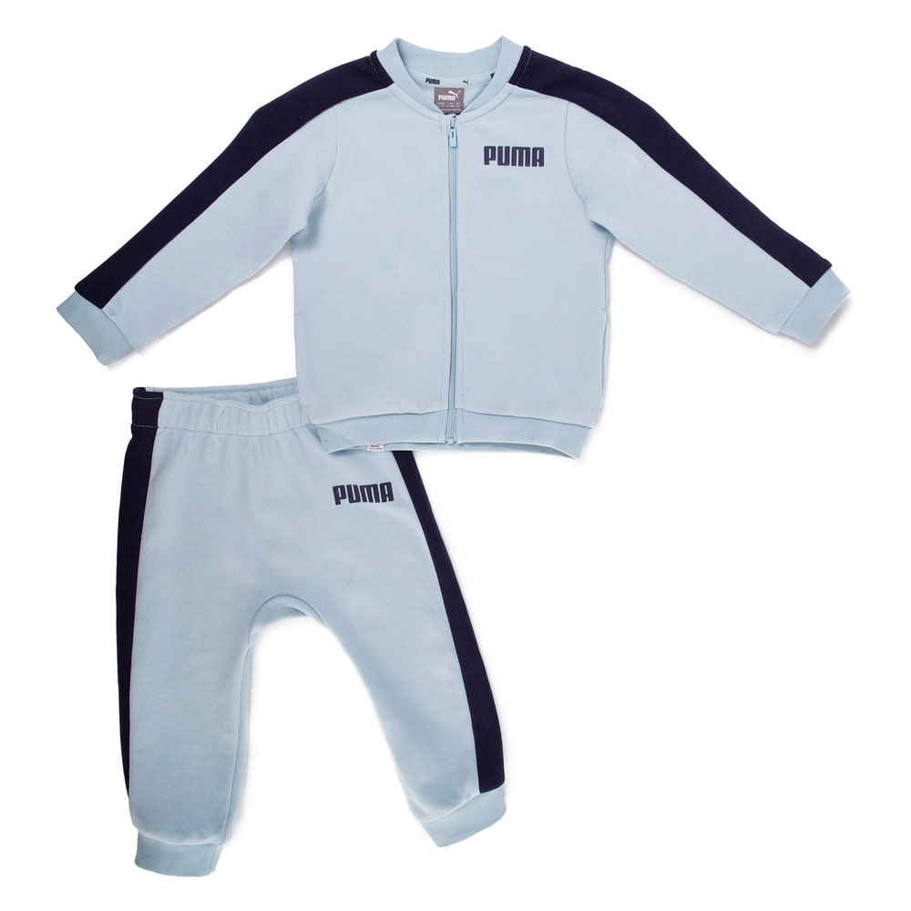 Изображение Puma Детский комплект Contrast Infant Tracksuit #1