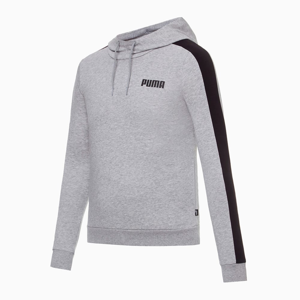 Зображення Puma Толстовка Contrast Hoody TR W #1: light gray heather
