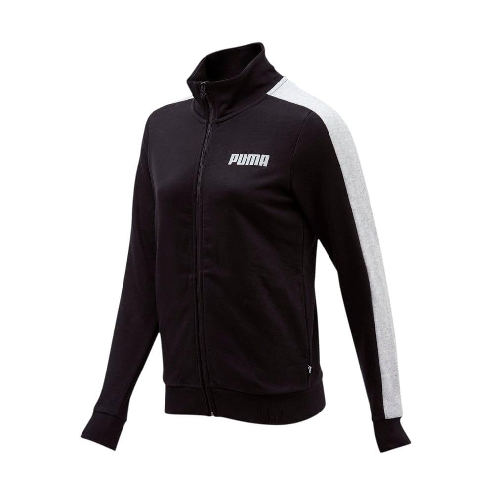 Изображение Puma Олимпийка Contrast FZ Jacket TR W #1
