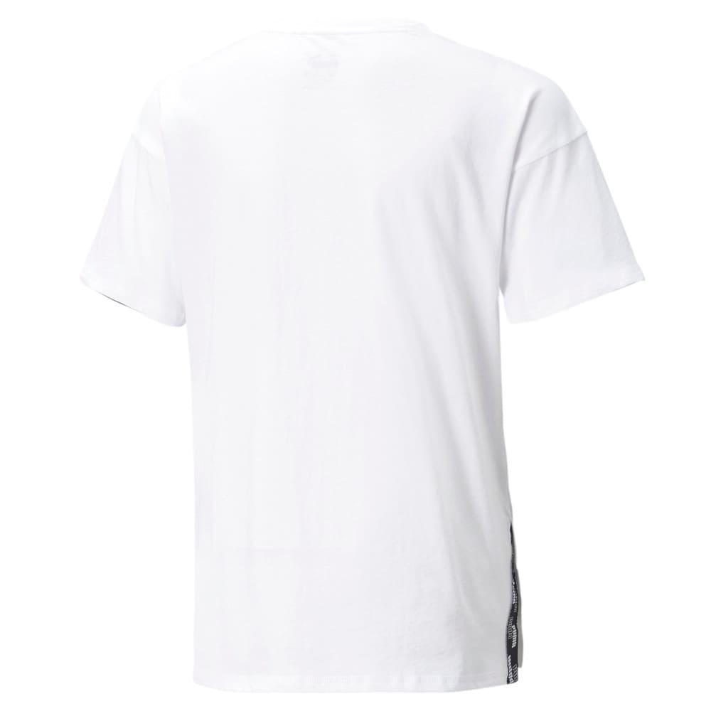 Изображение Puma Детская футболка Power Elongated Youth Tee #2: Puma White