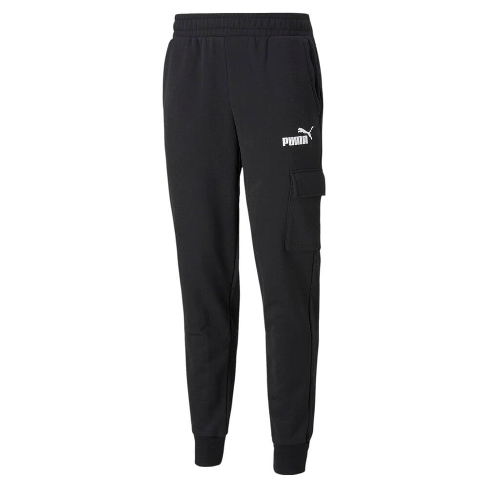 Изображение Puma Штаны Essentials Men's Cargo Pants #1: Puma Black