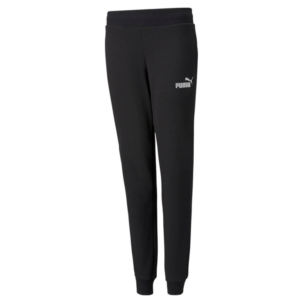 Зображення Puma Штани Essentials+ Youth Sweatpants #1: Puma Black