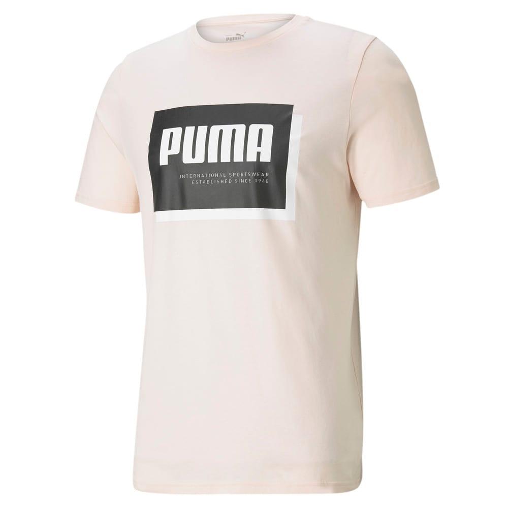 Изображение Puma Футболка Summer Court Graphic Men's Tee #1: Cloud Pink