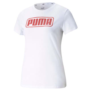 Изображение Puma Футболка Summer Stripes Graphic Women's Tee