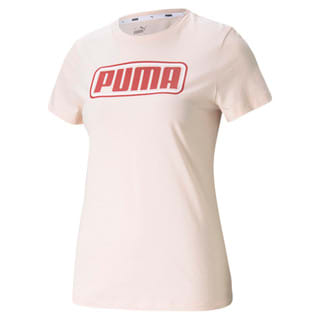Зображення Puma Футболка Summer Stripes Graphic Women's Tee