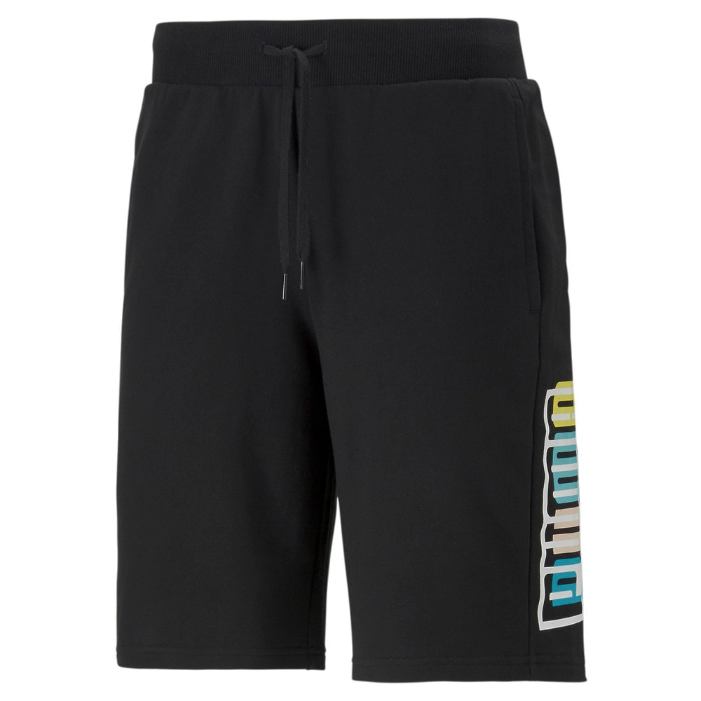 Зображення Puma Шорти SUMMER COURT Graphic Shorts #1