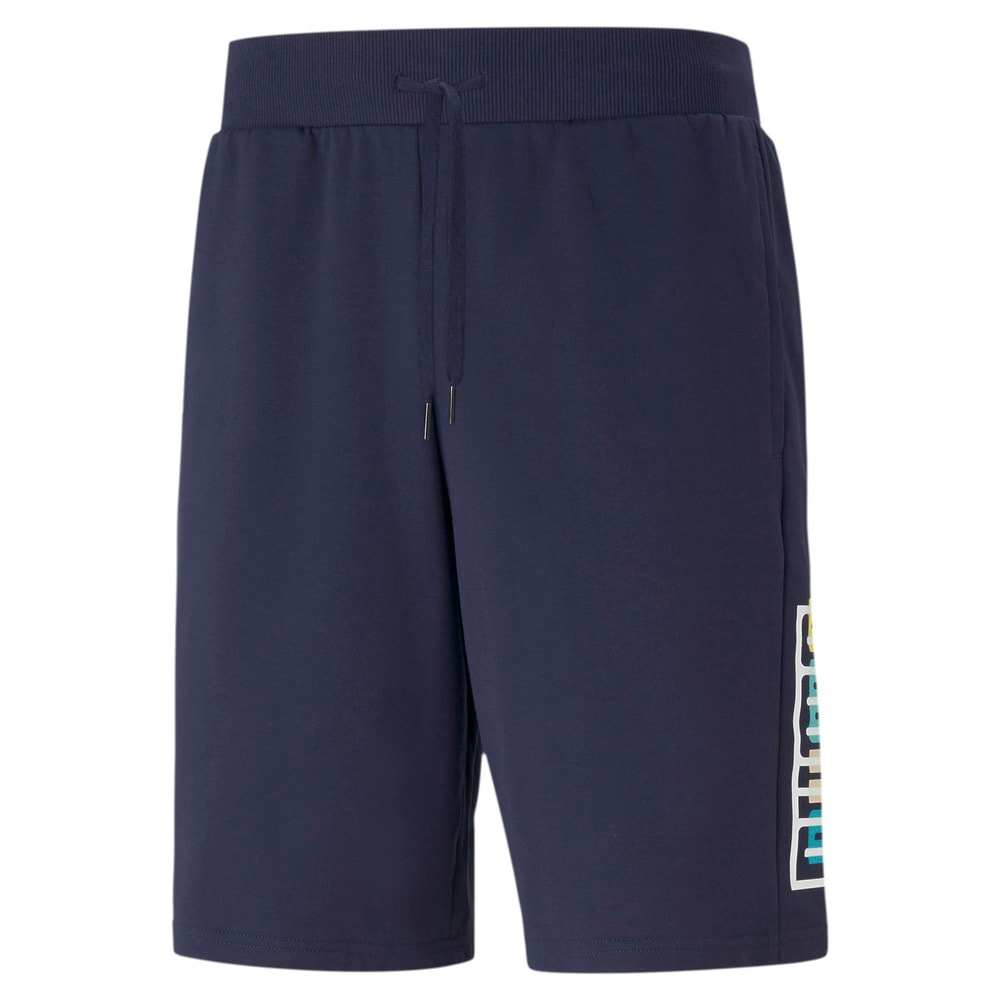 Изображение Puma Шорты SUMMER COURT Graphic Shorts #1
