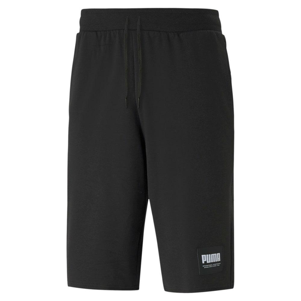 Изображение Puma Шорты SUMMER COURT Sweat Shorts #1: Puma Black