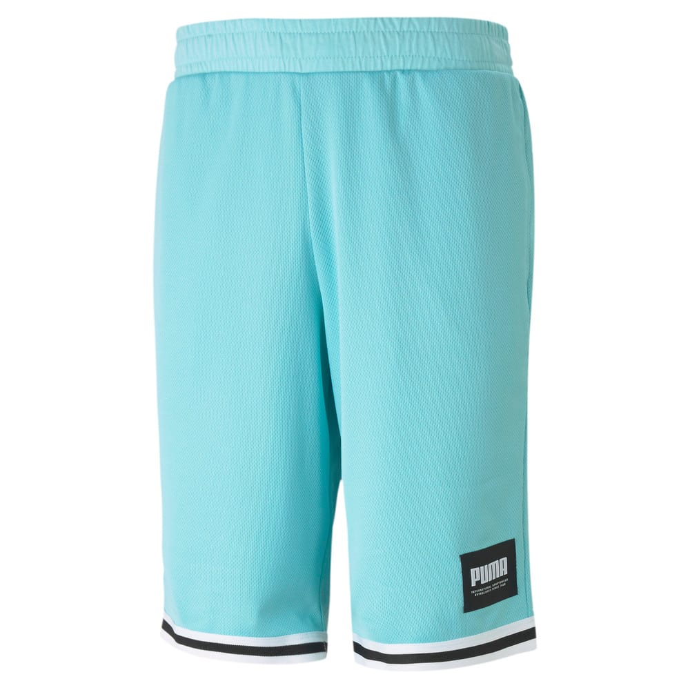 Изображение Puma Шорты SUMMER COURT Mesh Men's Shorts #1: Angel Blue