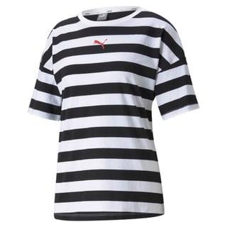 Изображение Puma Футболка Summer Stripes Printed Women's Tee
