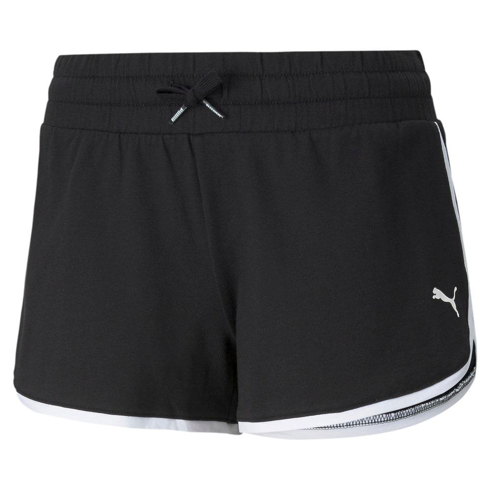 Зображення Puma Шорти Summer Stripes Women's Shorts #1: Puma Black