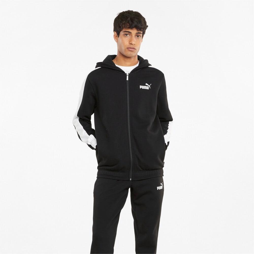 Зображення Puma Спортивний костюм Hooded Men's Sweatsuit #1: Puma Black