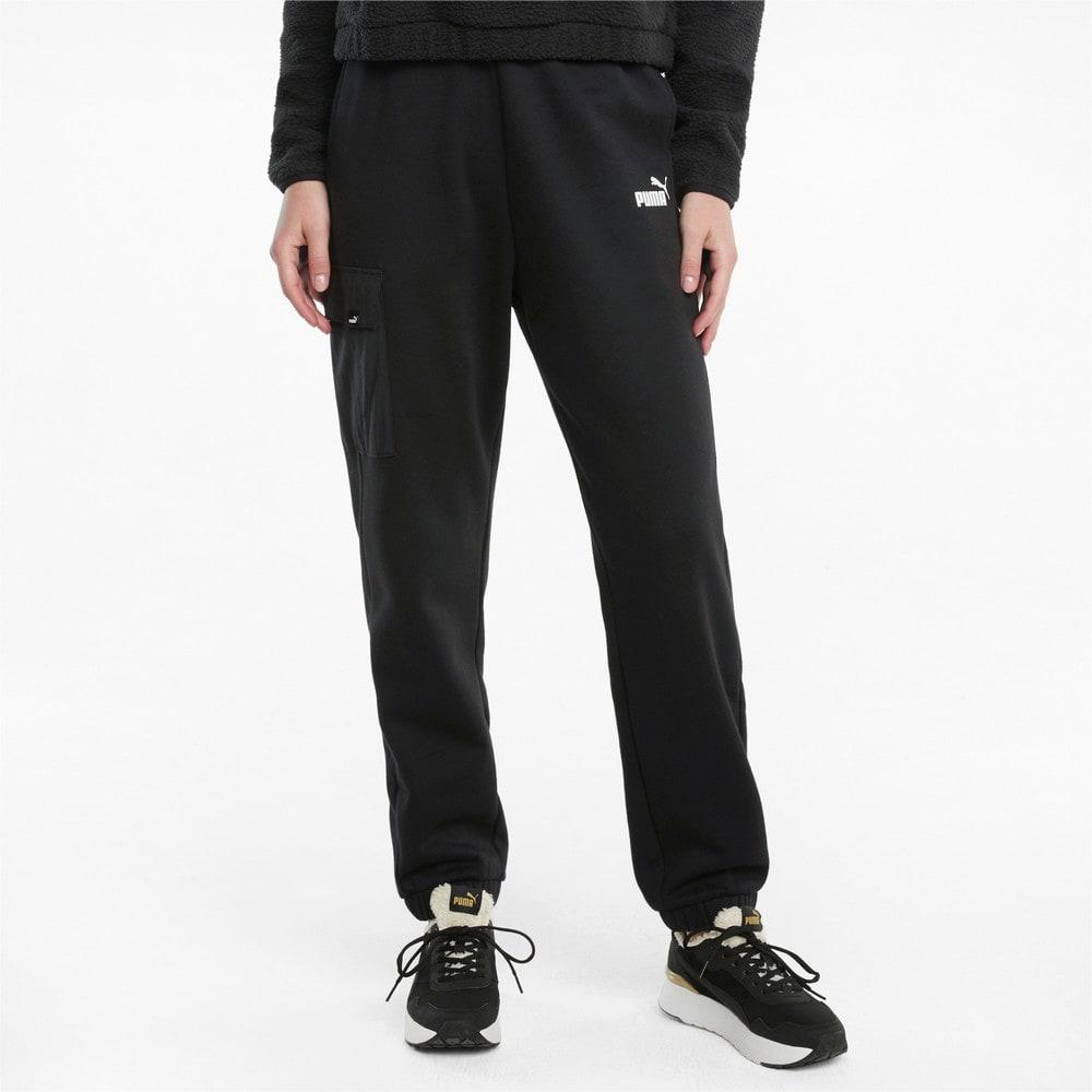 Зображення Puma Штани Power Women's Cargo Sweatpants #1: Puma Black