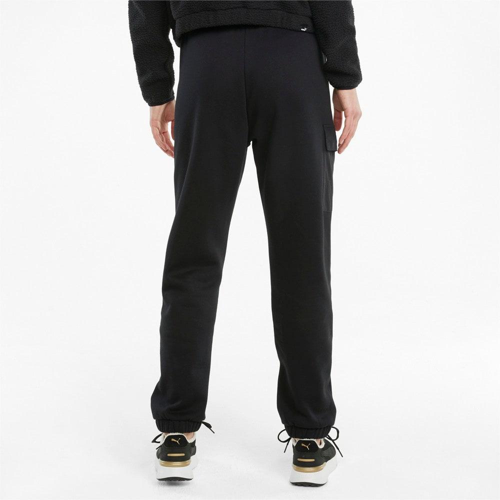 Зображення Puma Штани Power Women's Cargo Sweatpants #2: Puma Black