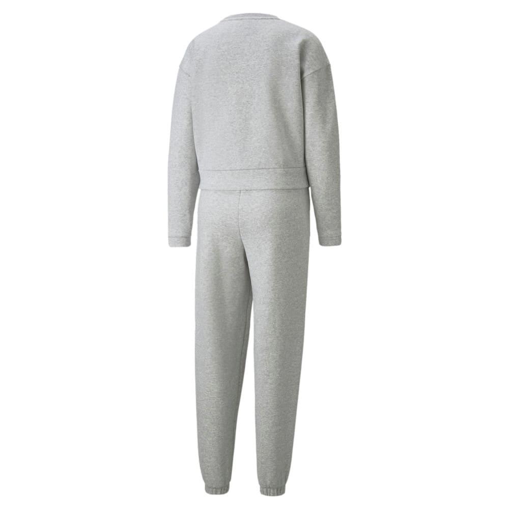 Изображение Puma Спортивный костюм Loungewear Women's Tracksuit #2: light gray heather