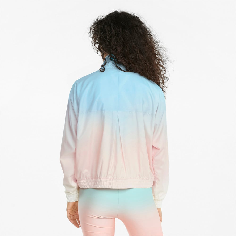 Зображення Puma Куртка Gloaming Printed Full-Zip Women's Jacket #2: Eggshell Blue-Gloaming