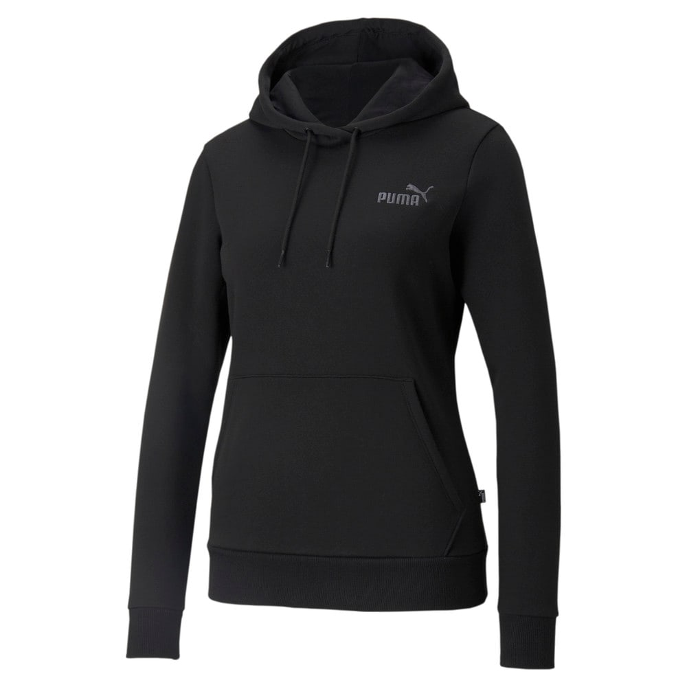 Зображення Puma Толстовка Essentials+ Embroidered Women's Hoodie #1: Puma Black