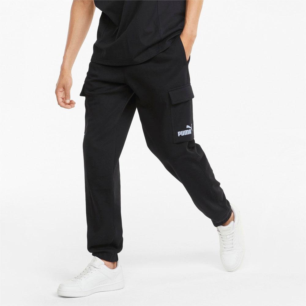 Зображення Puma Штани Power Men's Cargo Sweatpants #1: Puma Black