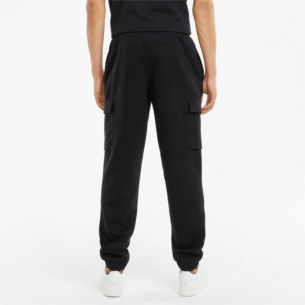 Зображення Puma Штани Power Men's Cargo Sweatpants #2: Puma Black