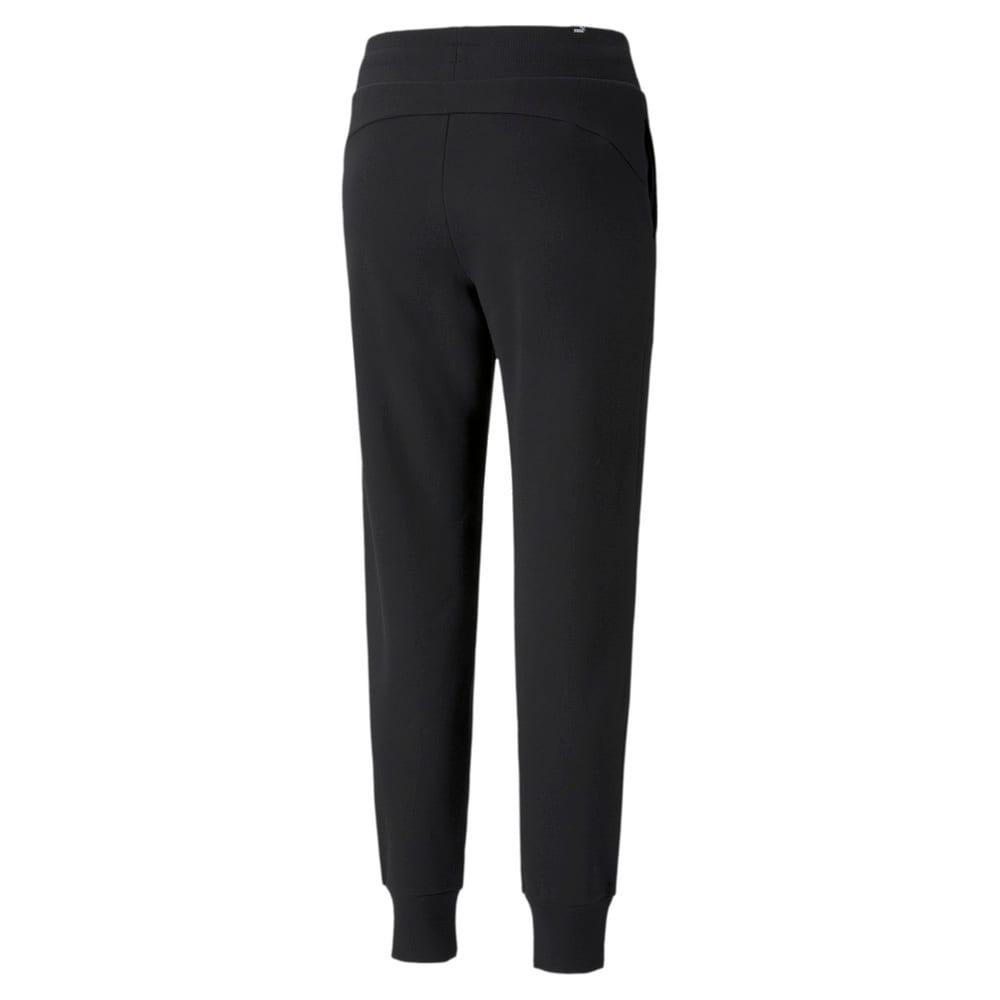 Изображение Puma Штаны Essentials+ Metallic Fleece Women's Pants #2: Puma Black-GOLD