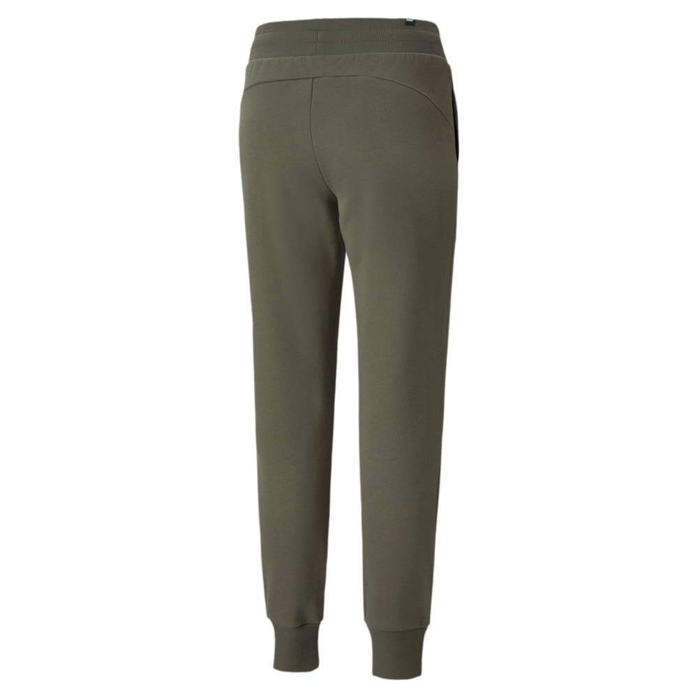 Изображение Puma Штаны Essentials+ Metallic Fleece Women's Pants #2: Grape Leaf-Silver