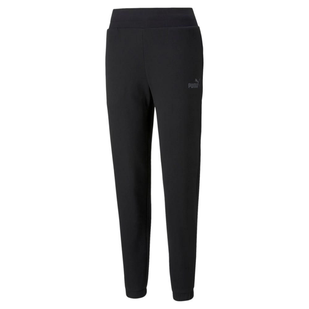 Изображение Puma Штаны Essentials+ Embroidered Fleece Women's Pants #1