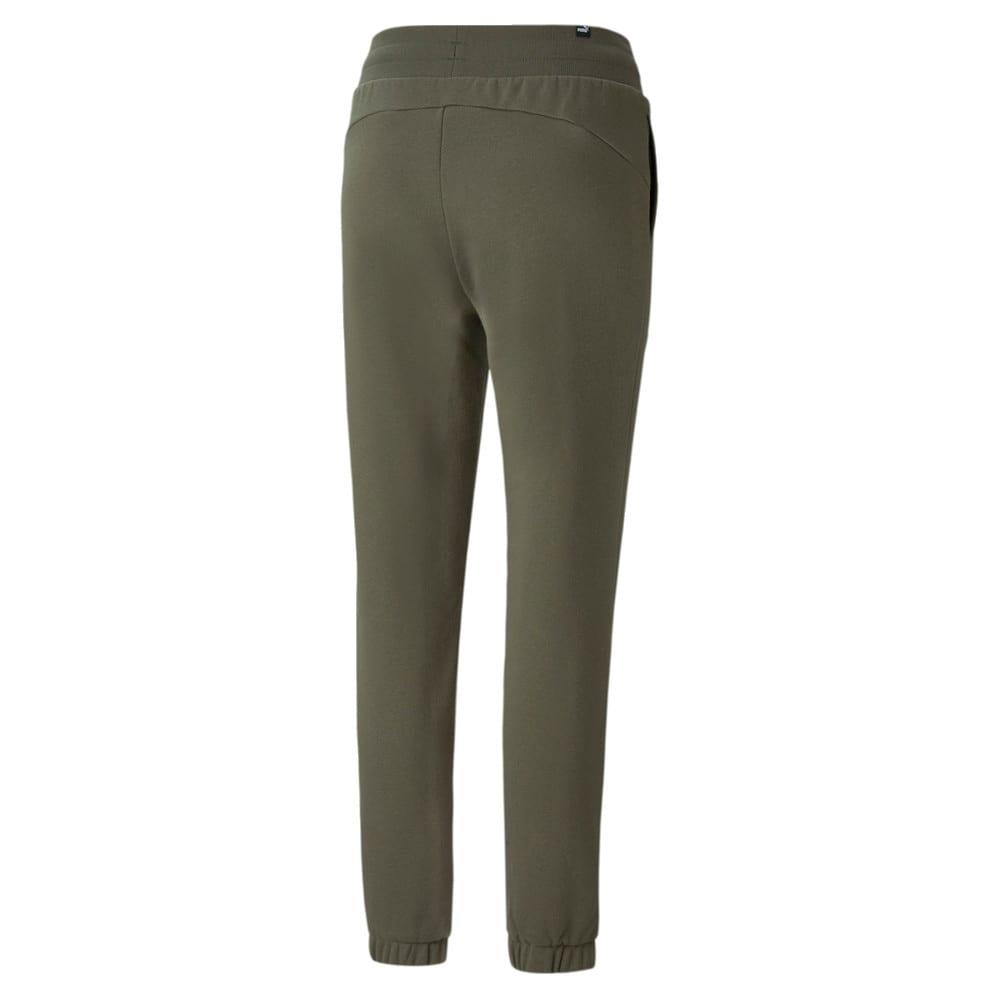 Изображение Puma Штаны Essentials+ Embroidered Fleece Women's Pants #2: Grape Leaf