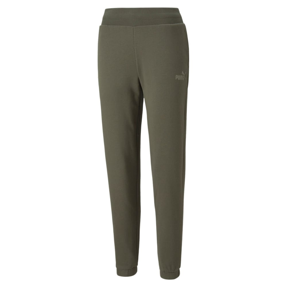 Изображение Puma Штаны Essentials+ Embroidered Fleece Women's Pants #1: Grape Leaf